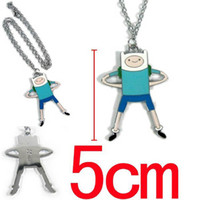 adventure necklace - Anime Cartoon Adventure Time Finn and Jake Necklace Metal Pendant
