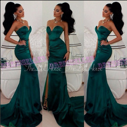 Emerald Green Empire Prom Dresses Suppliers  Best Emerald Green ...