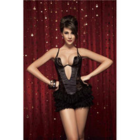 Sexy neck corset leather - Crocodile Leather and Faux Suede Corsets Deep V Neck Full Dress Render Catsuit Party Costumes Club Dress