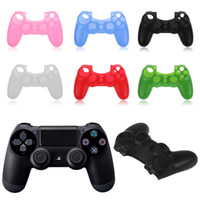 for ps4   DHL Free Shipping!!! High Quality Protective Soft Silicone Case for Sony Playstation 4 PS4 Gamepad Controller Skin!