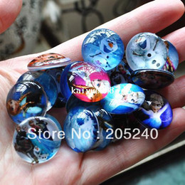 Wholesale handmade photo glass cabochon mixed kinds of frozen styles mm