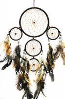 Wholesale HOT five circle beautiful dream catcher piece random colour in one opp bag Diameter cm cm cm