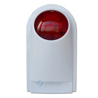 Wholesale KR J008 Wireless Outdoor Siren Sound With Flash Light New Sound for Alarm System
