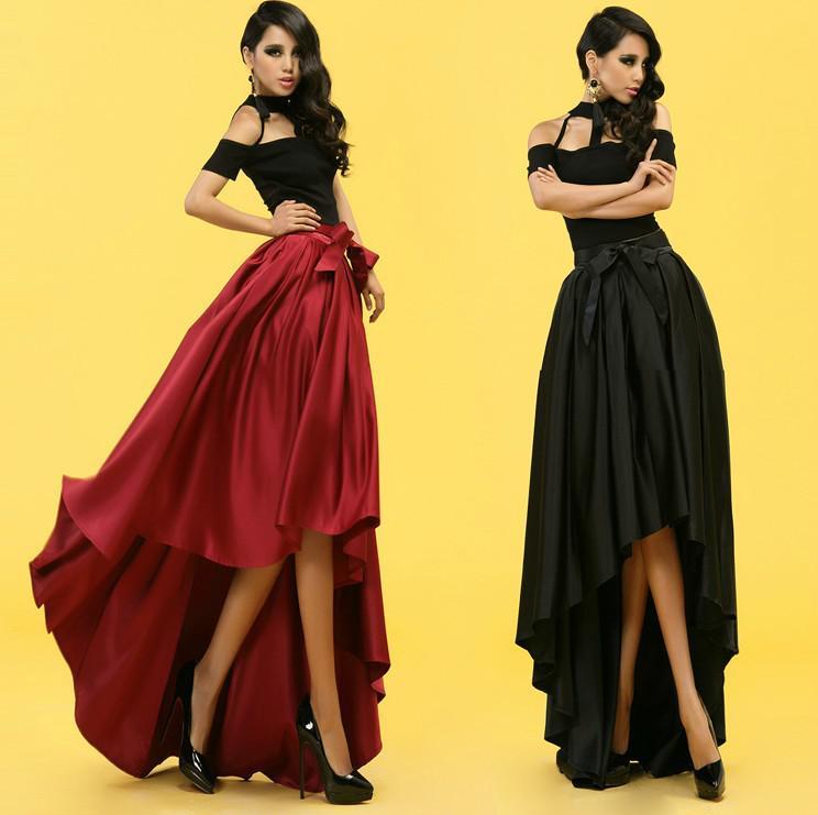 noble high waist skirt tutu skirt dovetail maxi