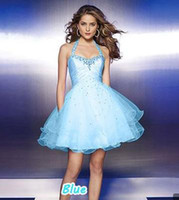 Cheap A-Line Sexy Short Prom Dresses 2014 New Arrival Green, Blue, Purple Color for Choosing Under 50 USD Cheap but Good z3