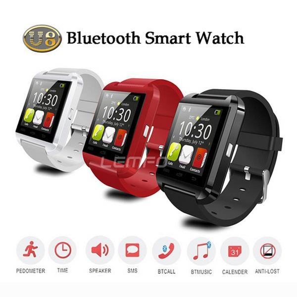 Bluetooth Smartwatch U8 U Watch Smart Watch Wrist Watches ...