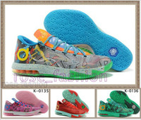 Cheap KD Basketball Shoes KEVIN DURANT KD 6 VI Outdoor Shoes...
