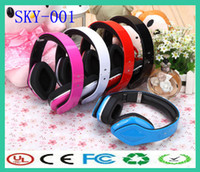 Wired MP3/MP4 Mono multi-function wireless sport mp3 bluetooth headsets headphone with FM radio