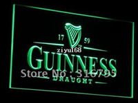 Wholesale a002 g Guinness Vintage Logos Beer Bar Neon Light Sign