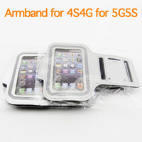 For Apple iPhone Plastic As picture shows armband for iphone 5 5s iphone 4 4s Sport Gym Running Armband Arm Band Protector Case Cover colorful stock 100PCS lot DHL FEDEX armband