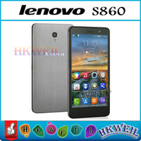 Wholesale Lenovo S860 MTK6582 Quad Core Smart Phone G ROM Android4 With Inch IPS Screen MP Camera WEIL