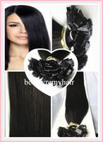 Brazilian Hair #1b#2#4#60#613   #1b#2#4#60#613 5A Hair Flat-tip Hair Extensions 100% Vgirgin Remy Human Hair Extensions In Stock 18''--28'' 3pcs lot free shipping by DHL