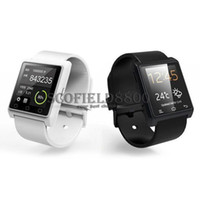 Wholesale Bluetooth Smartwatch U8 U Watch Smart Watch Wrist Watches for iPhone S S Samsung S4 S5 Note Note HTC Android Phone Smartphones S