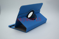 Smart Cover/Screen Cover 7'' For Apple Universal 360 rotating case cover Jean Cloth skin shell for 7 inch 8'' 9'' 10'' tablet MID Q88 A13 Galaxy tab 7.0 T210 P3200 Stand