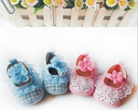 Children's handmade cloth shoes,discount toddler shoes ,grid lace