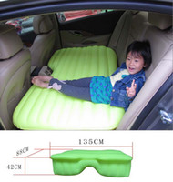Plastic Garden Sofa Outdoor Furniture New Multifunction Inflatable Safa Bed Mattress For Car SUV 135CM*88CM*42CM