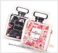 Wholesale Paragraphs in Europe and the star of big shop sign perfume bottles personality flowers handbag shoulder inclined across a small bag Fashion