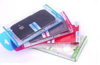 Wholesale Universal PVC Retail package Packaging Plastic boxes for cell phone Case iphone S S C Galaxy S3 mini S4 mini case Package colors