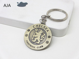 Wholesale HOT and retail Premiership Blues keychain pendant sports memorabilia fashion creative gift keychain key rings