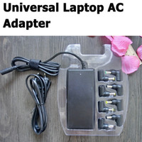 Wholesale AUTOMATIC W AUTO SWITCH Universal Laptop AC Adapter For Tablet TOSHIBA DELL ASUS USB For iPhone Samsung HTC Sony LG Free DHL