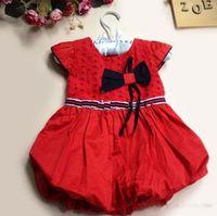 TuTu Summer Ball Gown Children's Dresses,Baby Dresses Red Dress Children Clothing Girls Party Dresses Infant Dress Princess Dresses Kids Clothes Toddler Dress Cut