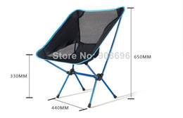 Wholesale 10 SingDaThickening Outdoor Folding Chairs Flat Tube Aluminum Alloy Camping Chairs Outdoors Thickening Garden Chairs