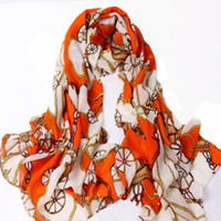 Spot Chiffon Muffler 2012 autumn and winter in Europe and America retro wagon chiffon long scarf shawl scarf air conditioning Female