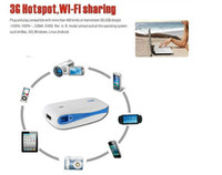 Wholesale Portable Mini Wireless wifi Router G Hotspot Mbps mAH portable Charger Power Bank WIFI support G USB modem airmen