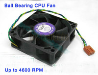 Wholesale 1x New Aluminium Thermal Conductive Radiator with Copper Core Ball Bearing CPU Fan Cooling for Intel xeon Server PC