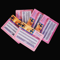 Wholesale Sets New Individual Eyelash mm mm mm Black False Fake Eyelash Cluster Eye Lashes Extension Tray