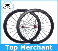 Wholesale Full carbon fiber wheels ZIPP Firecrest carbon road bike wheels racing road cycling wheelset with gifts sell pinarello clonago C59 frame