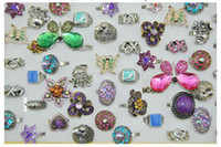 Wholesale Mixed Enamel amp Bronze Plated Rings Rings Jewelry Fashion Vintage Rings Many Styles Many colors different sizes