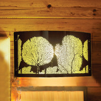 Wholesale Fashion rustic style led wall lamp modern brief design bed lighting lights