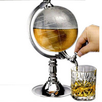Graduation   Mini Globe Shape Silver Beer Beverage Alcohol Water Dispenser