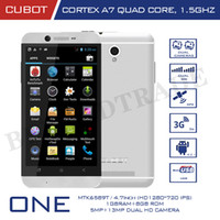 English Android with Bluetooth CUBOT One Mobile Phone MTK6589T Quad-Core 1.5GHz Android Smartphone 4.7 Inch IPS Capacitive Screen 13MP Camera Cell Phones