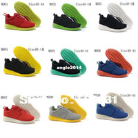 Wholesale Brand name London run roshe barefoot Men sneakers running sport shoes