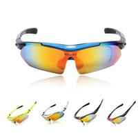 Wholesale 2014 WOLFBIKE Brand UV400 Men Women Coating Polarized Sunglasses Safety Eyewear Goggle for Bicycle Riding Universal Lens H10674
