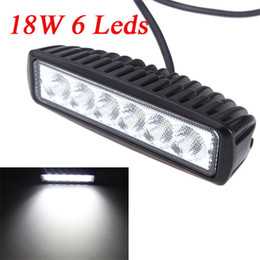 Wholesale 18W Flood Beam LED Car Work Light Lamp Strip Light for Jeep SUV ATV Off road Truck Universal LM K K1186