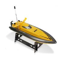 Barco de la Iglesia Central de control remoto 956 grande de alta velocidad de la embarcación de control remoto puede cargar de nuevo los juguetes en barco modelo para los niños