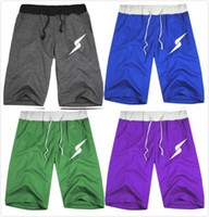 Wholesale new Lovers Shorts slacks fifth Parkour lightning Rush Blue Devils group men s sports pants Colors