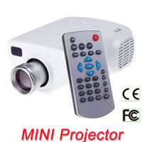 Wholesale Mini Full HD P Multimedia LED Projector Home Cinema Support AV TV VGA USB HDMI TF Video V638