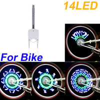 Wholesale NEW Colorful Mountain Bicycle Bike Cycling Wheel Spoke Light Lights LED Lamp Colors H10463