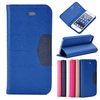 Wholesale iphone S S Slim Wallet Leather Magnetic Flip Case Cover Shell Skin Stand For iPhone5 g