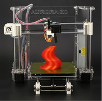 Wholesale Aurora Z605 Reprap Prusa i3 D Printer D Model Print DIY KIT High Accuracy Acrylic Frame D Flatbed Printer for ABS PLA