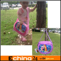 Wholesale Newest Unisex Frozen Anna Elsa Sets Bags Child Fashion Cartoon Handbags kids Small Shoulder Bags Children Day s Gift Frozen Schoolbag