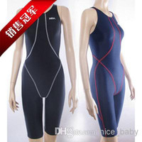 Wholesale NSA One Piece Competition Training Knee Length Waterproof Chlorine Resistant Women s Swimwear Plus Size Swim Bathing Suit