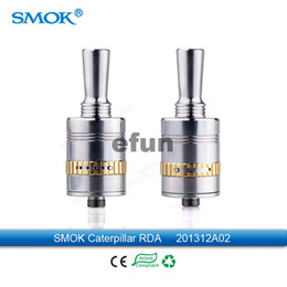 Wholesale 100 Original Smok Adjustable Airflow Caterpillar RDA Atomizer RDA Rebuildable Tank for Smok Sid Magneto Mod genuine Caterpillar atomizer