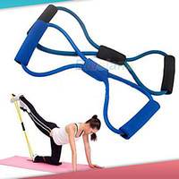 Wholesale Resistance Training Bands Rope Tube Workout Exercise for Yoga Type Fashion Body Fitness
