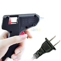 Wholesale New Black Electric Tool Hot Melt Glue Gun Watts Sale