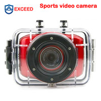 Wholesale Sport camera Helmet Waterproof Action Camera DVR Camcorder car camera recorder Sport Outdoor Camcorder digital video cameras